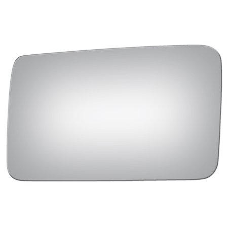 Burco 2496 Left Side Mirror Glass for Ford Escort, Mercury Capri, Tracer