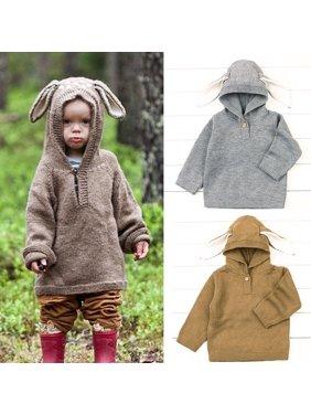 Details about   Newborn Toddler Baby Girls Sweater Children Kids Sweatshirt Knitting Clothes