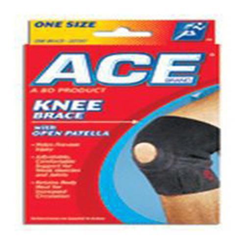 Ace Neoprene Knee Brace, Open Patella, Universal - 1 Ea