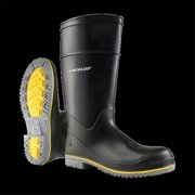 Dunlop 8990405 15 in. Mens Polyflex 3 Plain Toe Knee Boots, Size 5