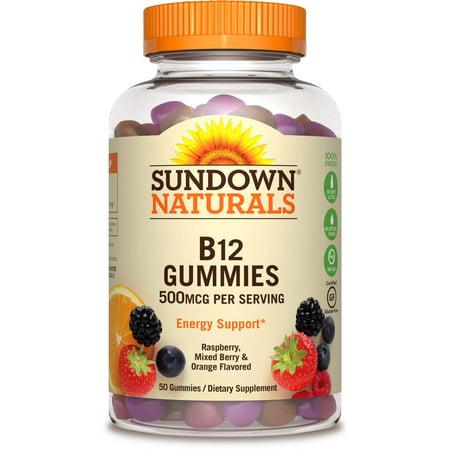 Sundown Naturals® Vitamin B-12 500 mcg, 50