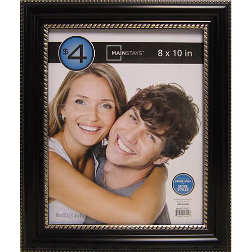 Samson 8x10 Picture Frame, Black, Set of 4