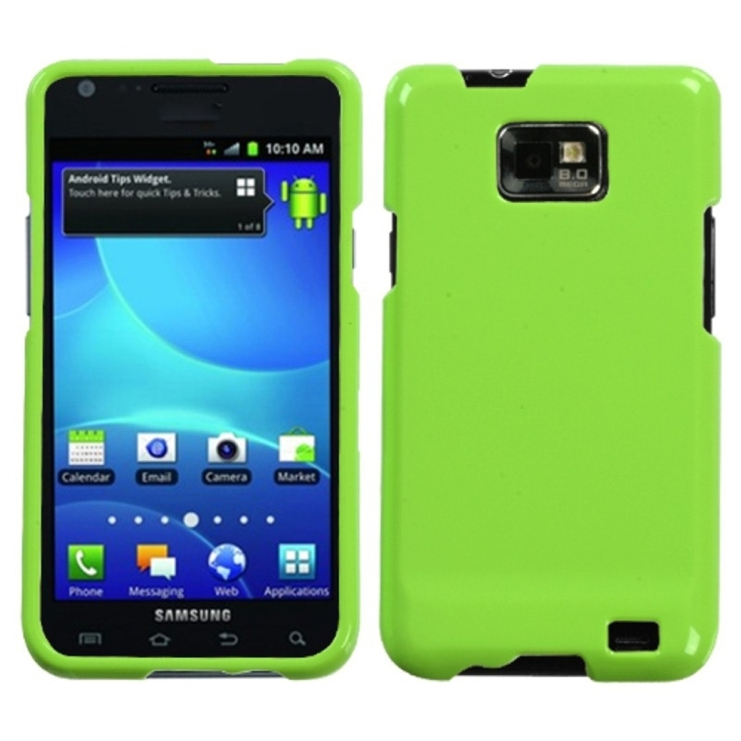 Insten Natural Pearl Green  Phone Case for SAMSUNG: I777 (Galaxy S II)