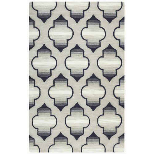 Mercer41 Chandler Hand-Tufted Gray Area Rug