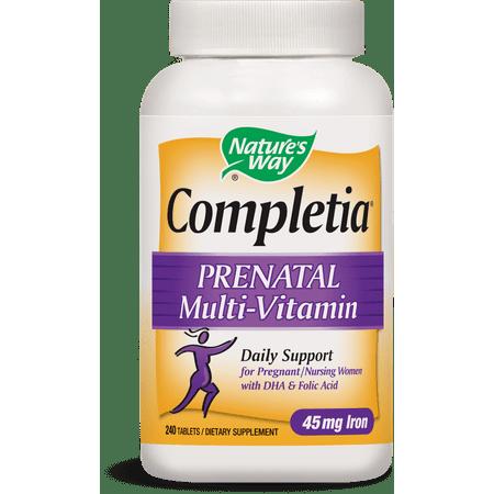 Nature's Way Completia Prenatal Multivitamin Tablets, 240