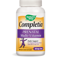 Nature's Way Completia Prenatal Multivitamin Tablets, 240 Ct
