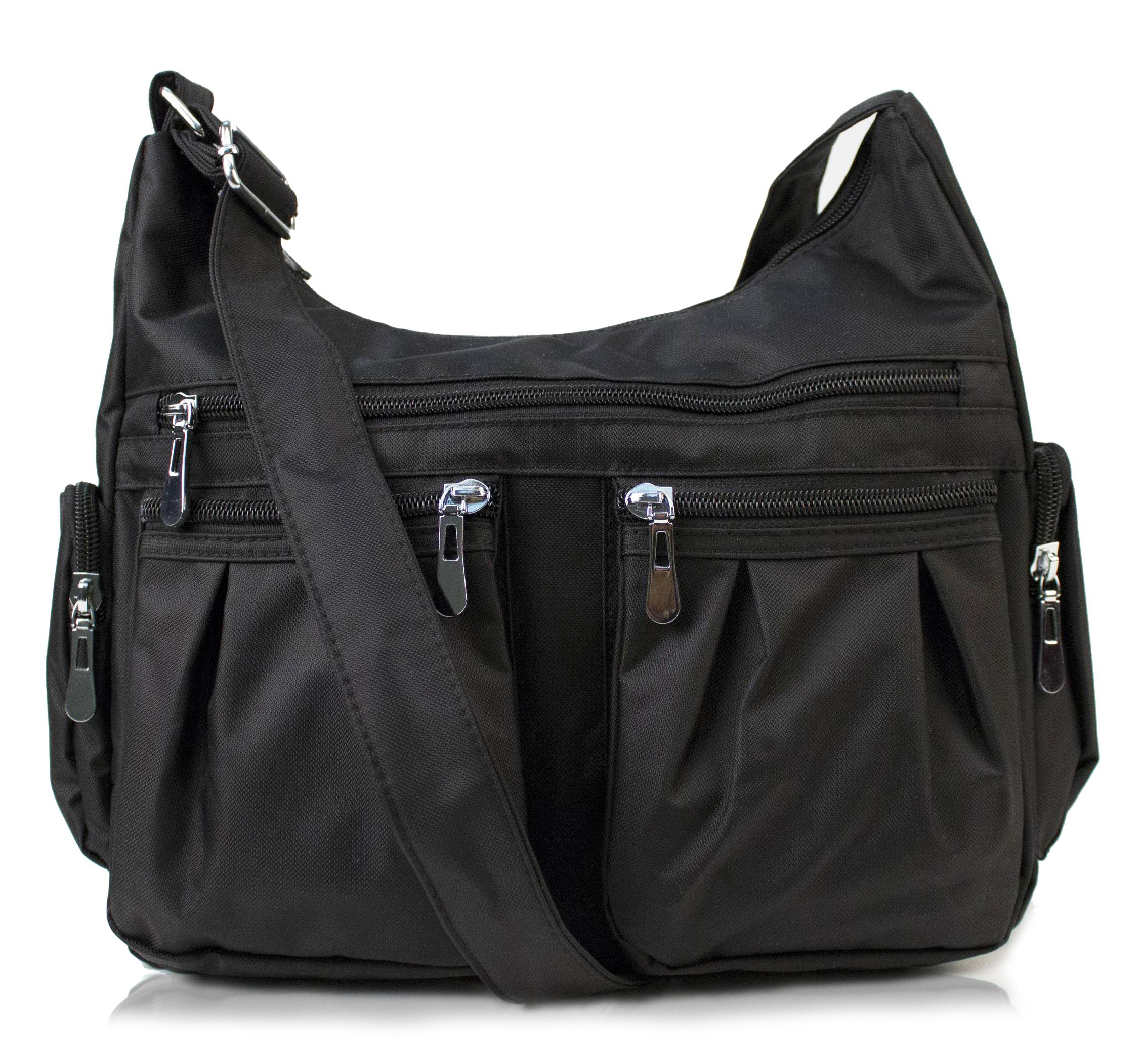 Scarleton Multi Pocket Shoulder Bag H1407