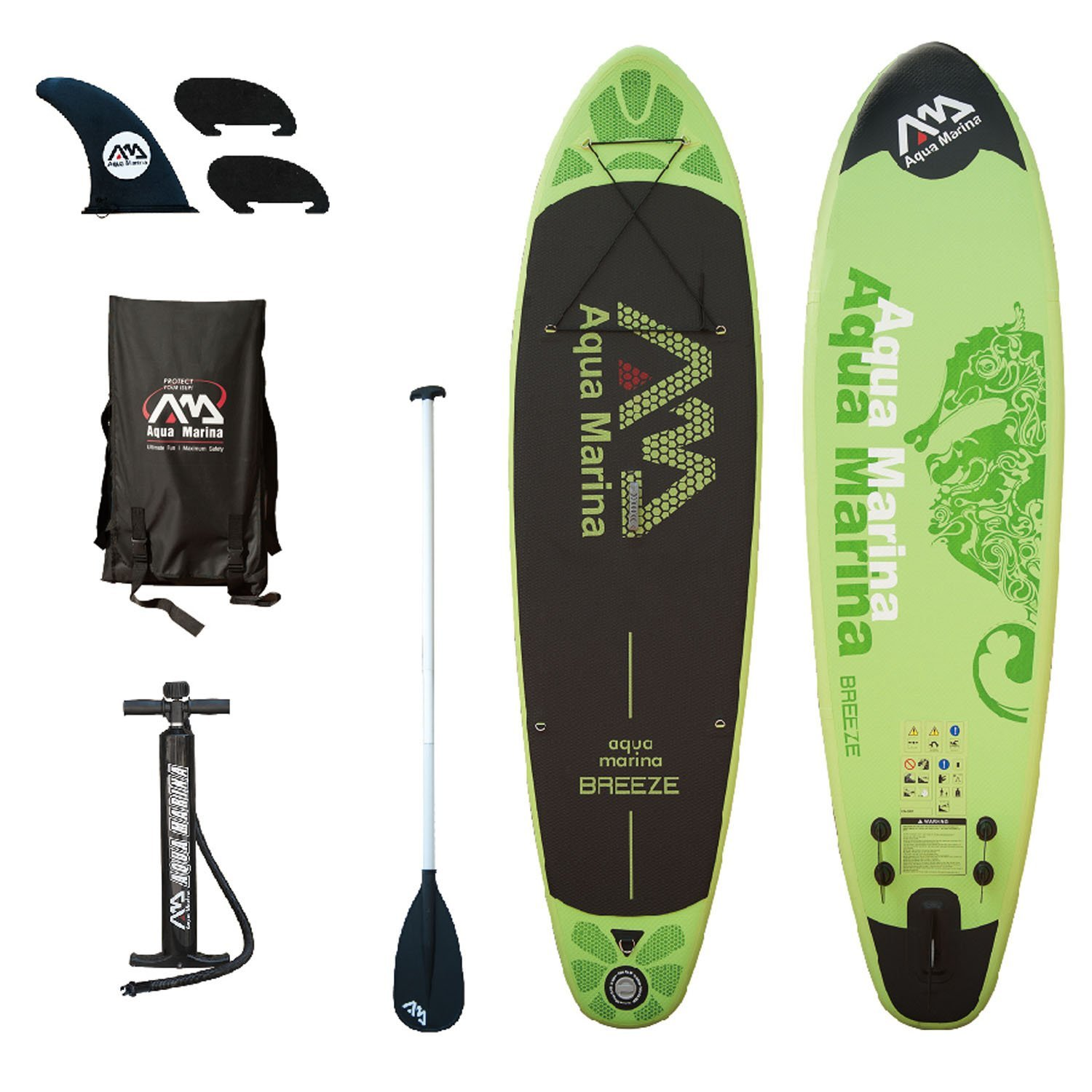 Click here to buy Aqua Marina Breeze Stand Up Paddle Board by Overstock.