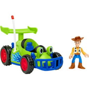"Imaginext Disney Pixar Toy Story Woody & RC Vehicle Action Figure Sets (7.4"")"