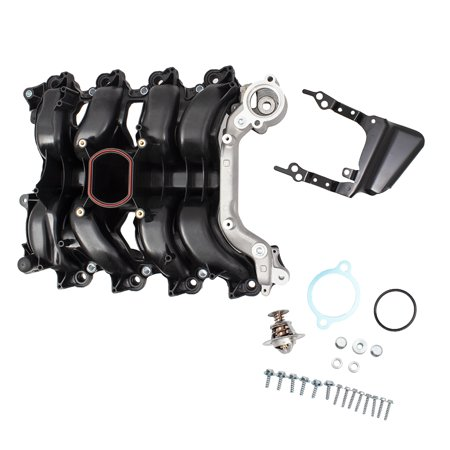 Mercury Grand Marquis Differential - BROCK Intake Manifold with Thermostat Upgraded Design Replacement for Ford Mercury Mustang Grand Marquis Cougar Mountaineer Crown Victoria Town Car & Explorer 4.6L