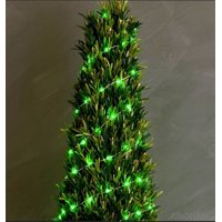 Electrical String Lights, 16.4ft 40 LED Christmas Tree Decorative Lights for Indoor, Bedroom, Wedding Party, Christmas Tree, New Year, White LED Light