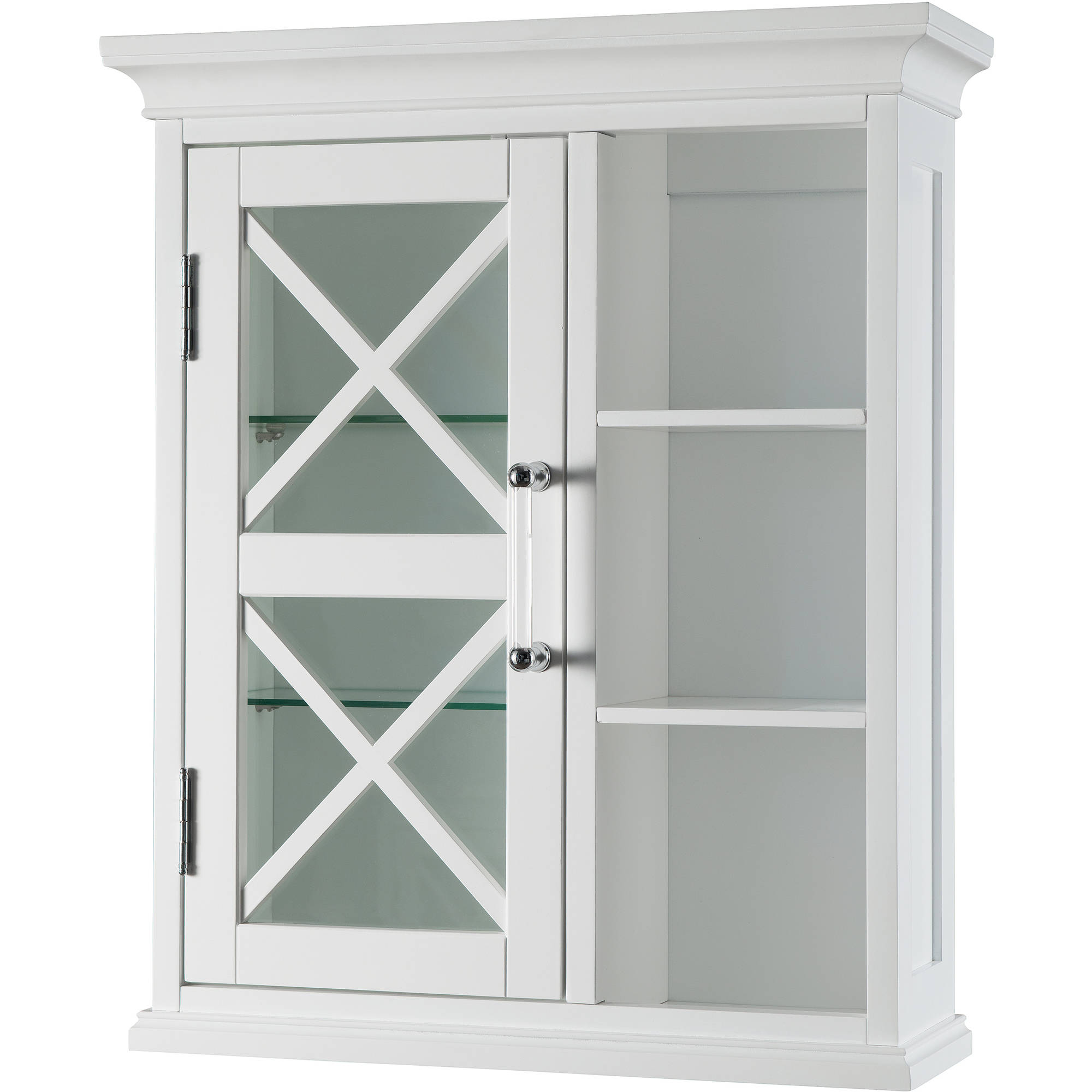 Mason Wall Cabinet with 1 Door and Cubbies