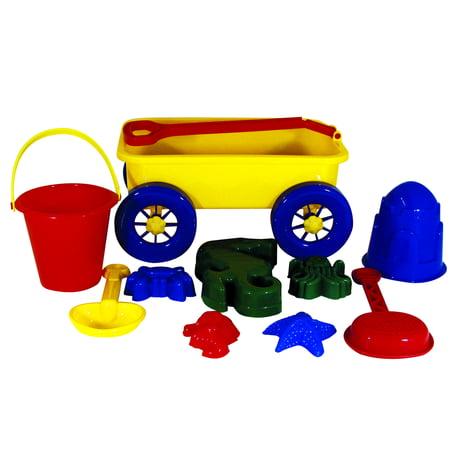 Itza Beach Wagon Set - Beach Toys And Games
