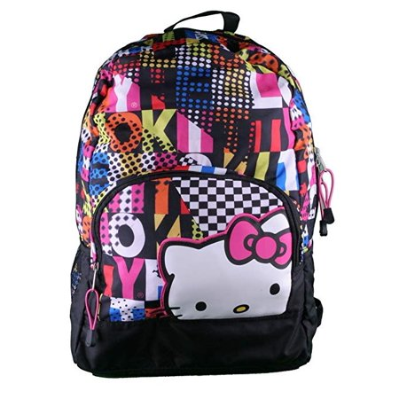 Backpack - Hello Kitty - Colorblock Black 16
