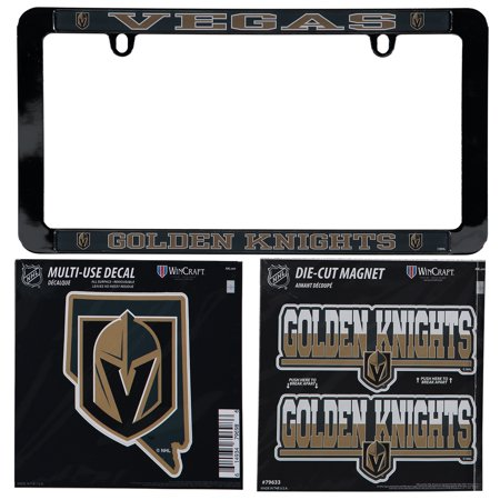 Vegas Golden Knights Frame With Magnet And Decal Set - No Size ... 0327487586bc