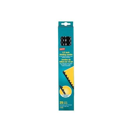 Staples Plastic Comb Binding Spines 1/2