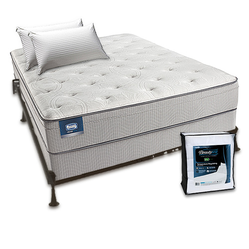 Simmons Beautysleep Cadosia Plush Euro Top Twin Size