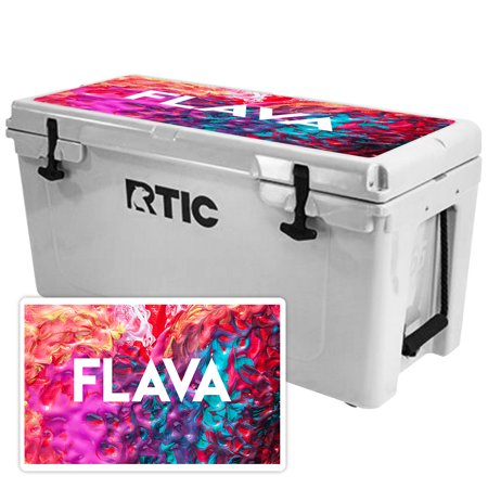 Skin for RTIC 65 Cooler Lid (2017 Model) - Flava| MightySkins Protective, Durable, and Unique Vinyl Decal wrap cover  | Easy To Apply, Remove, and Change Styles | Made in the USA