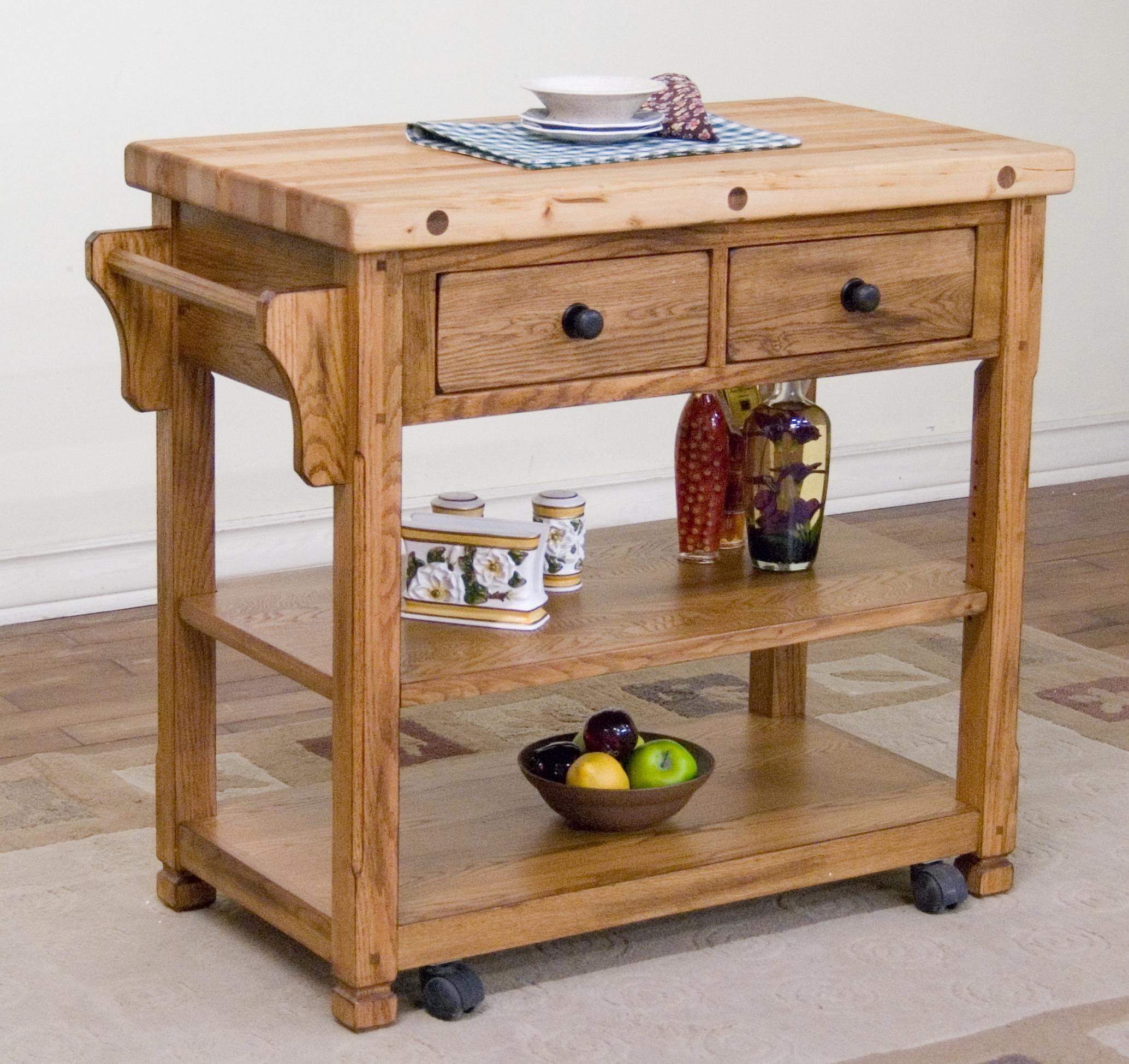 Winsome Basics Kitchen Cart Walmart