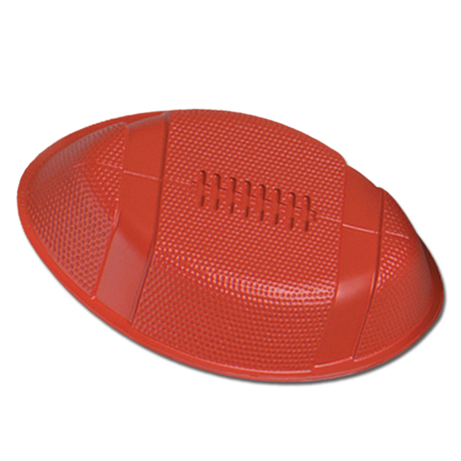 "Plastic Football Food Serving Tray 12"" - Super Bowl Party Supplies"