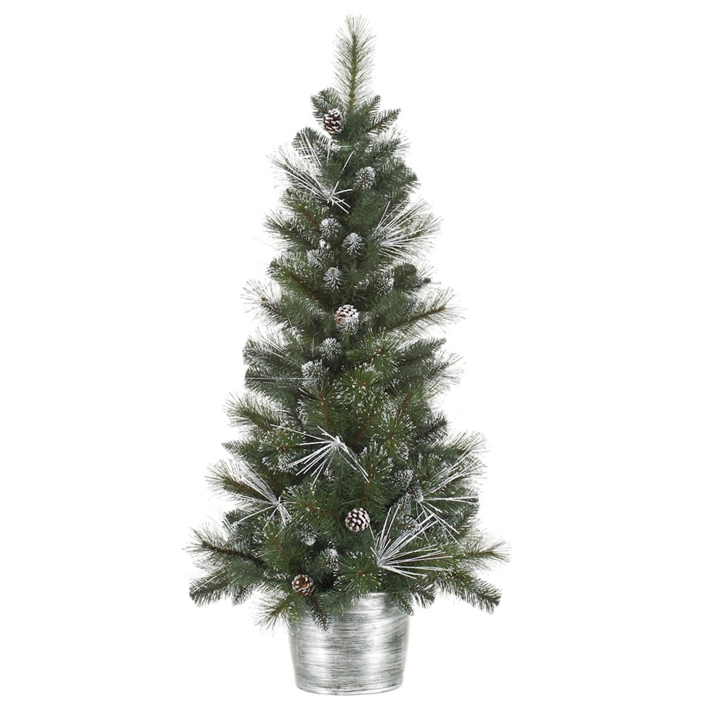 Vickerman Frost White Mix Tip Christmas Tree