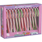 Jolly Rancher, Smoothie Holiday Candy Canes, 5.28 Oz., 12 Count