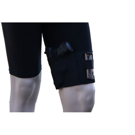 AlphaHolster Thigh Gun Holster -Conceal Under Dress / Shorts - Cool Elastic Material - Costume Thigh Holster