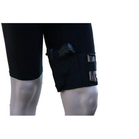 Image of AlphaHolster Thigh Gun Holster -Conceal Under Dress / Shorts - Cool Elastic Material (Medium)
