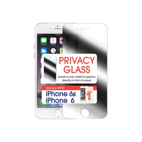Cellet Premium Tempered Privacy Glass Screen Protector for Apple iPhone 6/6s (0.8mm)