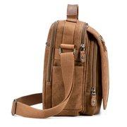 e61ba48bed99 Plambag Canvas Messenger Bag Small Travel School Crossbody Bag Image 3 of 7