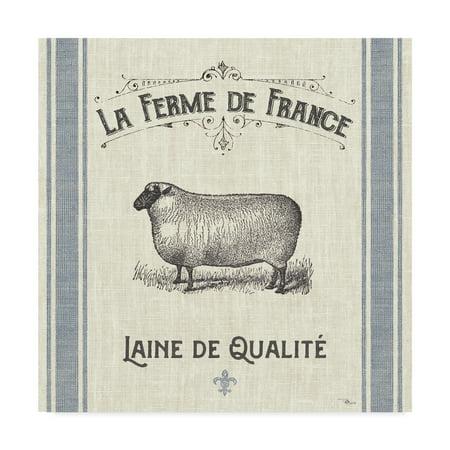 Trademark Fine Art 'French Farmhouse V' Canvas Art by Pela