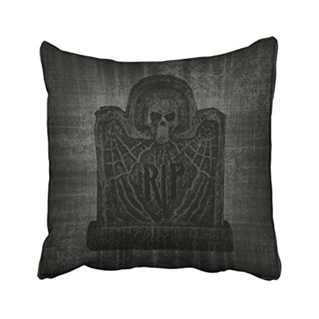 WinHome Dark Gothic Or Halloween Pillow Covers Cushion Cover Case 18x18 Inches Pillowcases Two Side](Gothic Halloween Cover Photos)
