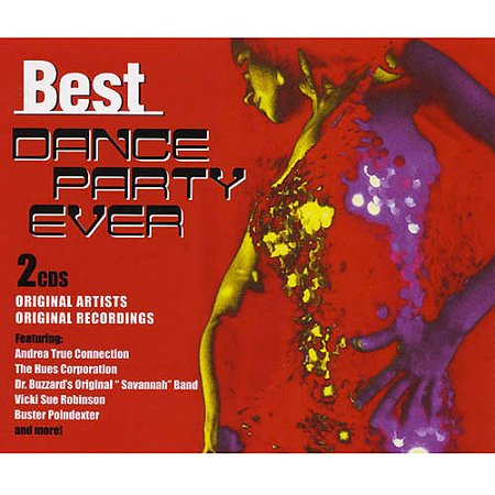 Best Dance Party Ever (CD) (Best Dance Moves Ever)