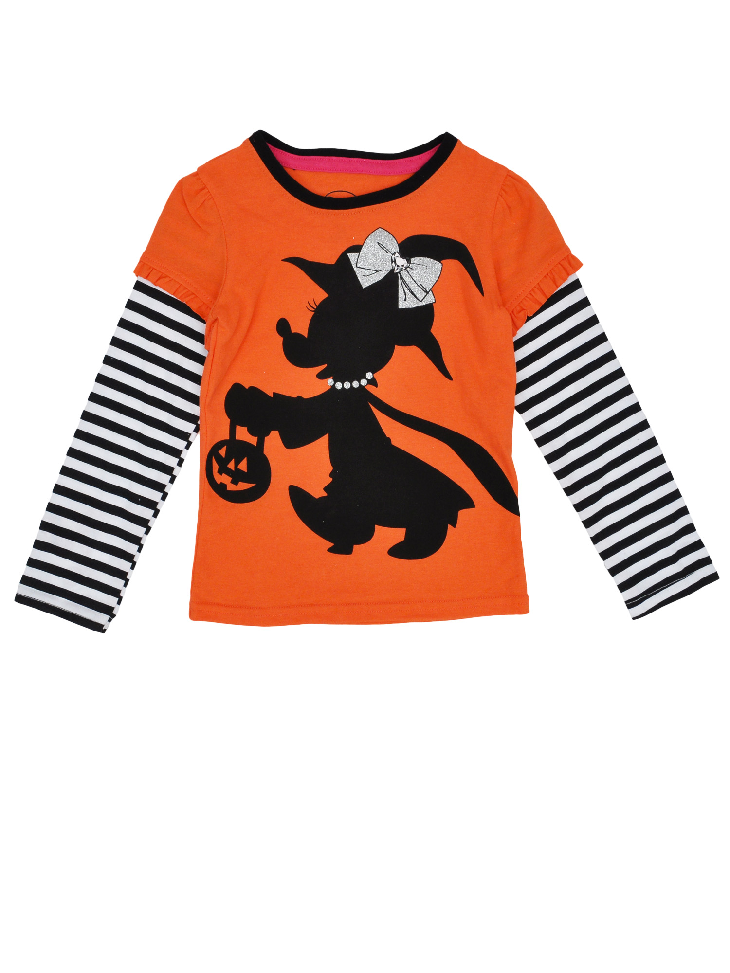 Baby Toddler Girls Minnie Mouse Witch Long Sleeve Shirt