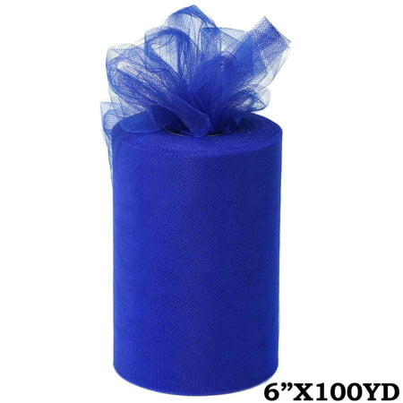 Royal Blue Tulle - 6