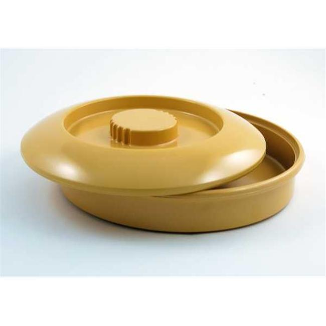 Gessner Products IW-0353-Pine Tortilla Server Set - Base and Lid- Case of 12