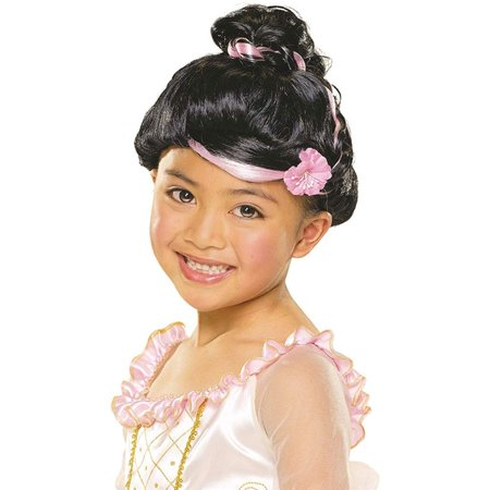 Child Sophisticated Princess Black Wig](Sophisticated Halloween)