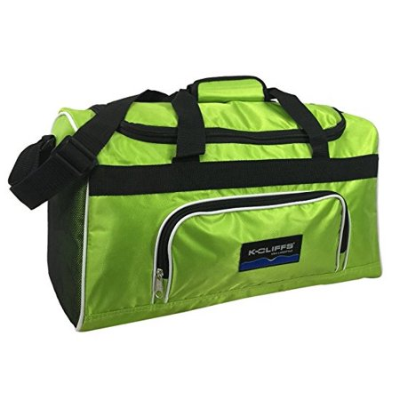 Sport Duffel Bag Fitness Gym Bag Luggage Travel Bag Sports Equipment Gear Bag, Apple Green Duke Blue Devils Gym Bag