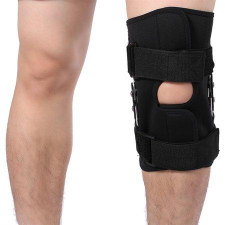 Knee Brace Neoprene Patella Hinged Straps Support for Jumper Runner Injury, Chondromalacia, Tendonitis
