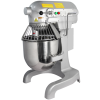 Hakka 10 Quart Commercial Planetary Mixers 3 Funtion Stainless Steel Food Mixers (110V/60Hz,1 Phase)