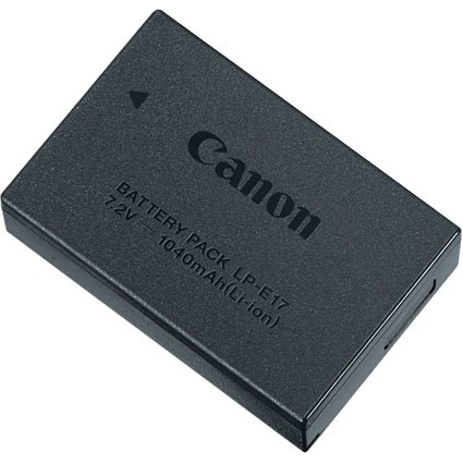 Canon Battery Pack LP-E17 - 1040 mAh - Lithium Ion (Li-Ion) - 7.2 V DC