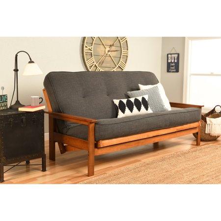 Kodiak Furniture Albany Linen Convertible Futon Sofa Walmartcom