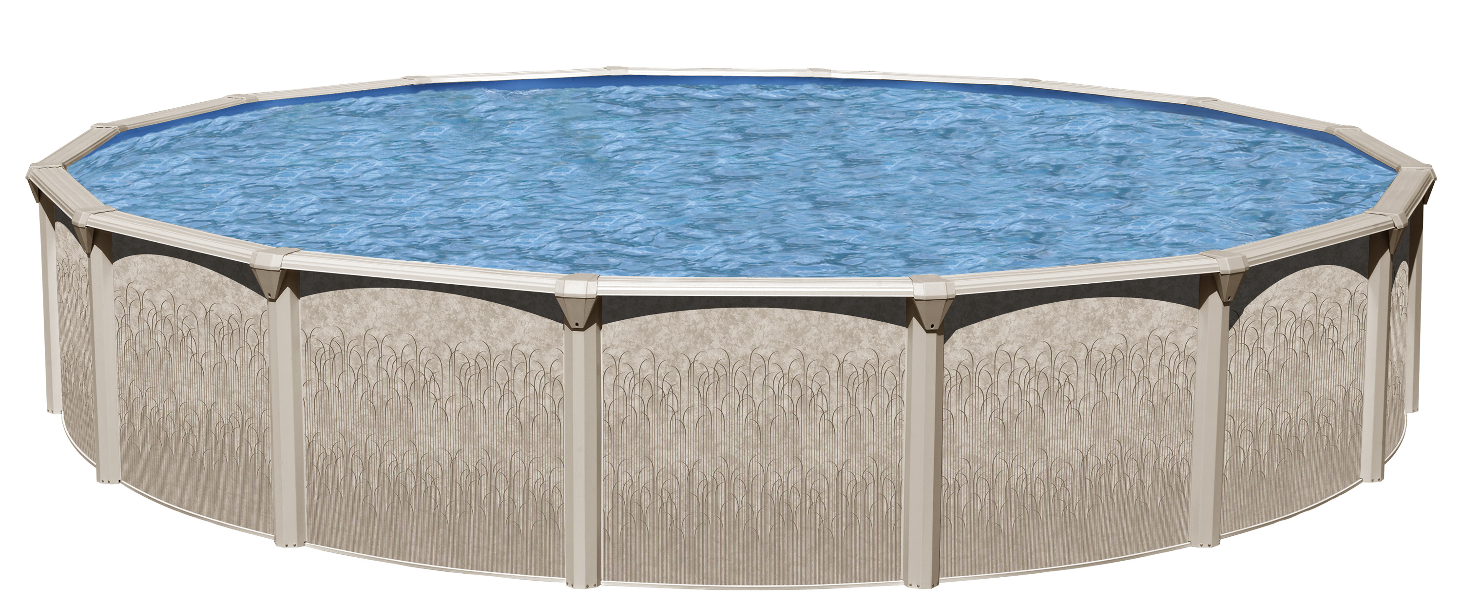 "Galveston 18' X 52"" Round Above Ground Pool package by Swim N Play"