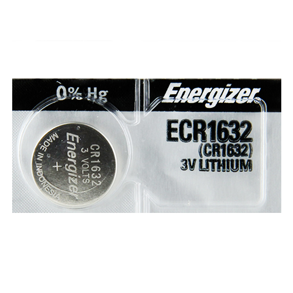 Energizer CR1632 3V Lithium Coin Battery - 10 Pack +  Free Shipping