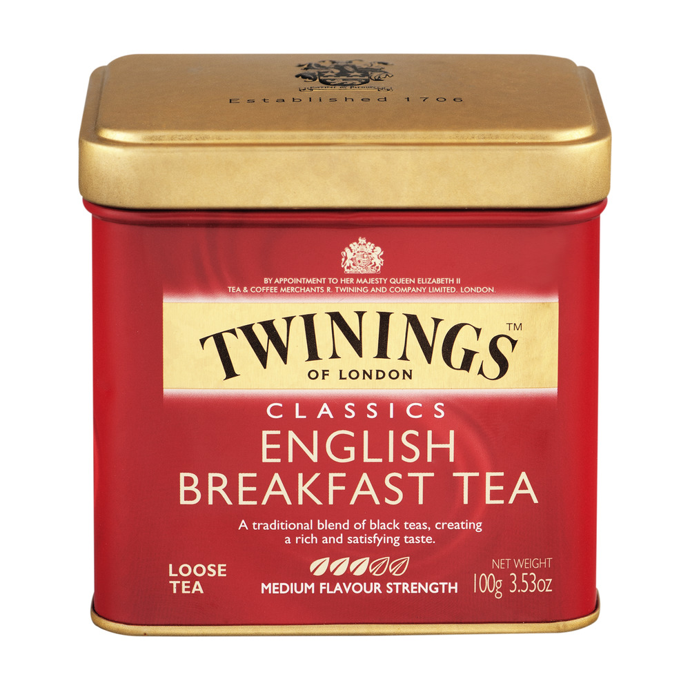 Twinings of London English Breakfast Loose Tea, 3.53 oz