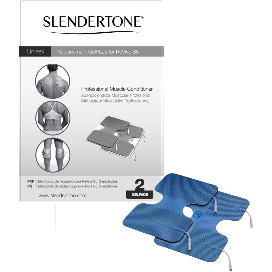 Slendertone ReVive Professional Muscle Conditioner Replacement Pads (1 set of 2 Pads)