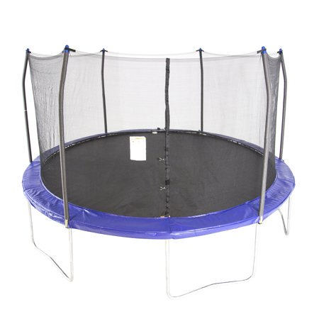 Skywalker Trampolines 15-Foot Round Trampoline, with Safety Enclosure