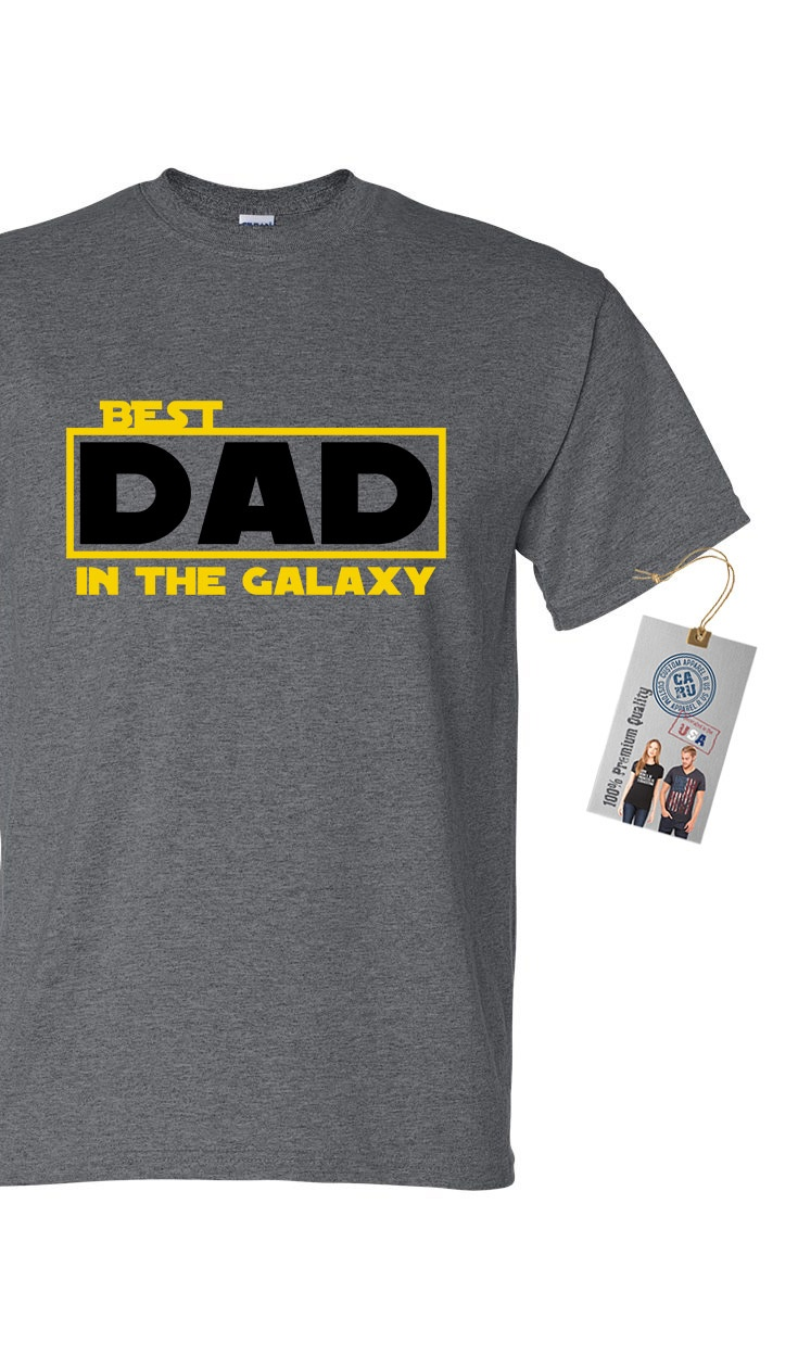 Best Dad in The Galaxy Mens Short Sleeve