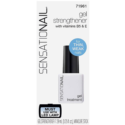 SensatioNail Nail Strengthener Gel Treatment, 0.25 fl oz