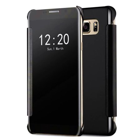 Samsung Galaxy S7 Edge Mirror View Clear Slim Flip Case Cover (Samsung Galaxy S7 Edge Clear View Case Review)